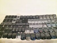 LAST MINUTE SALE = 80 CLASSIC BlackBerry Mobile Phone Handsets 8520 9300 9700 9720 = MIXED BARGAIN!
