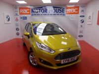 Ford Fiesta ZETEC(ONLY 5400 MILES) FREE MOT'S AS LONG AS YOU OWN THE CAR!! (yellow) 2016