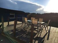 Bargain Price! Large Garden Table & 6 Chairs