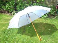 White Wedding Umbrella Hire