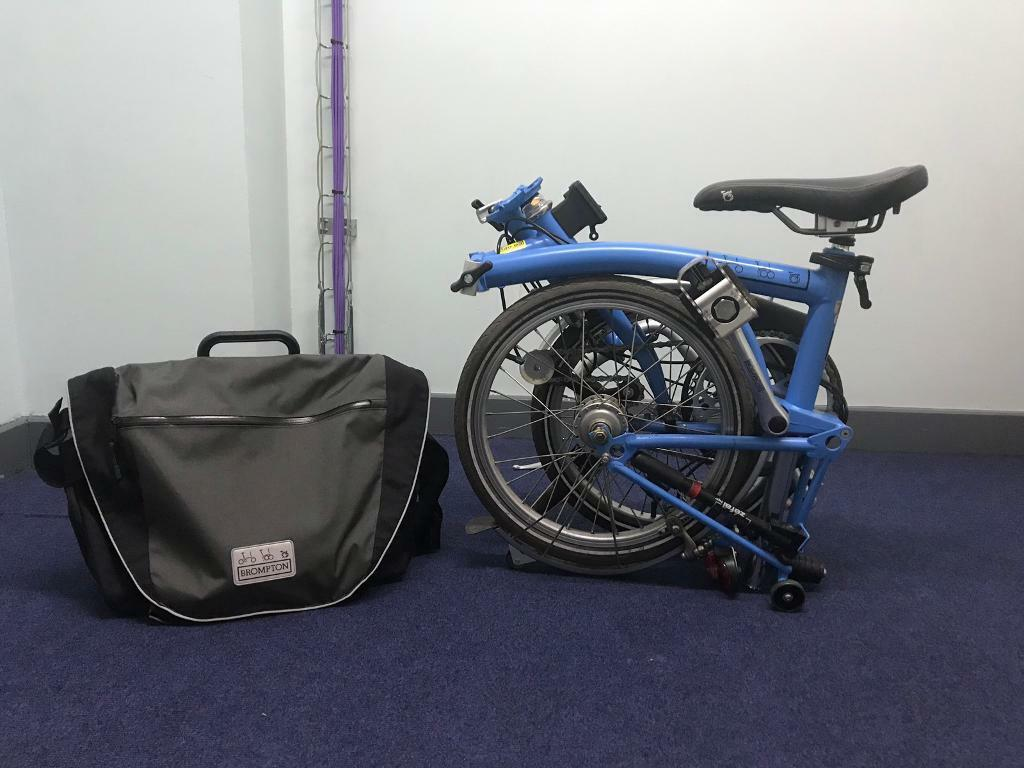 7a3b19a26d8 Brompton H3L with C bag