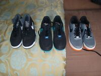 3 Pairs of Mens Nike Trainers