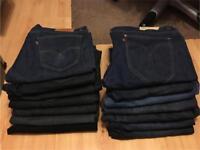 Men's Levi jeans bundle