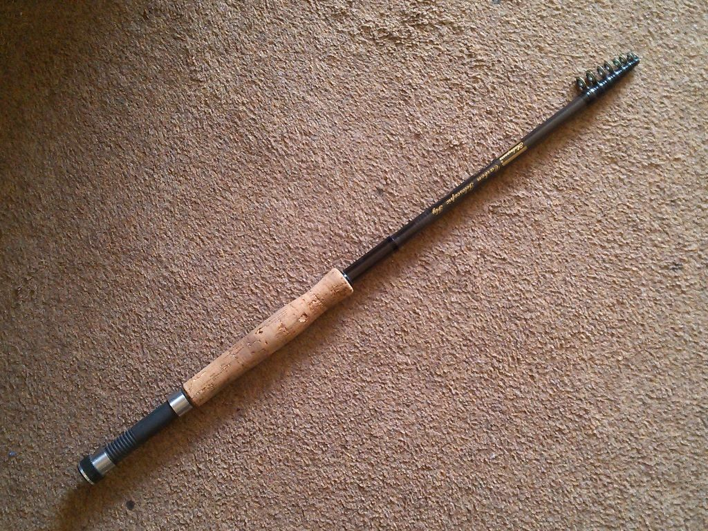 Shakespeare carbon telescopic fly rod unused in for Best all around fishing rod