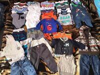 Bundle of boy clothes 9-12 months