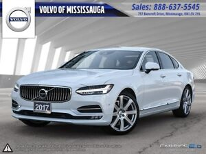 2017 Volvo S90 T6 AWD Inscription from 0.9%-6Yr/160, 000- PreOwn