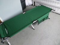 Adventurer Folding Aluminium Camp Bed.