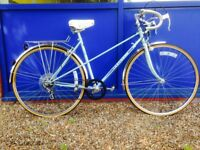 Ladies Peugeot carbolite, Claude Butler, Superia 100s Road Bikes available Fully Serviced
