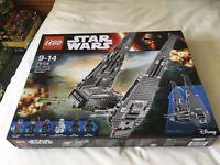 LEGO 75104 Star Wars Kylo Ren's Command Shuttle Set (New) - Collect Only