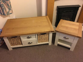 Cotswold Large Coffee table & Lamp Table - FOR SALE