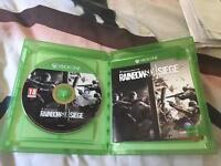 Rainbow six siege Xbox one like new