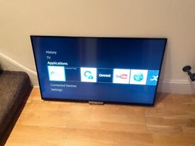 """SONY 42"""" FULL HD SMART TV,WITH UNIVERSAL STAND OR WALL MOUNT,FULL WORKING,£230 NO OFFER CAN DELIVER"""
