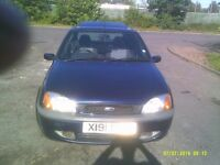 4 door ford fiesta full m.o.t