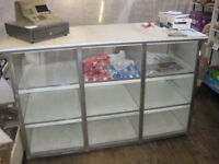 Shop Display Counter and Till, both 'Retro'