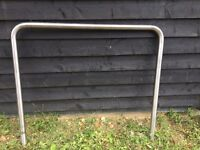 New Stainless steel hooped barriers x 30 - (can sell individually)