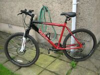 APOLLO PHAZE MOUNTAIN BIKE/CYCLE it is in VERY GOOD CONDITION, IT HAS FRONT AND REAR DISC BRAKES