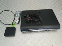 Sky Plus HD 3D On Demand Box and Sky SC201 Wireless connector