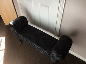 End of bed stool- suitable for little princesses