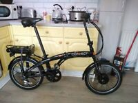 Connect Coyote Folding E-Bike with charger and carry bag electric