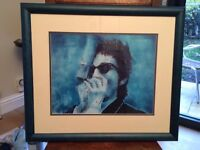 Limited edition Bob Dylan print