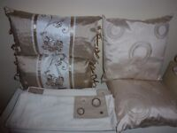 Duvet Covers x 2 and 4 Cushions as new