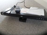 LG Blu-ray Disc/DVD Player, Model No.BD670