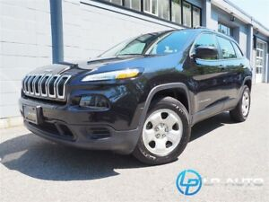 2015 Jeep Cherokee Sport! No Accidents! Easy Approvals!