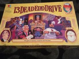 13 Dead End Drive Board Game.