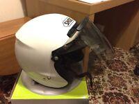 Shoei open face helmet