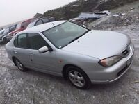 NISSAN PRIMERA ACTIVE 2001 5 DOOR ****LOW MILEAGE******LADY OWNER FORM NEW (16 YEARS)