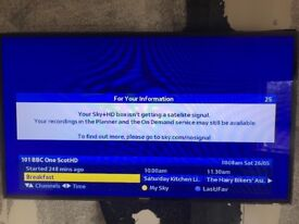 Samsung UE55D6500 TV for sale in Excellent condition