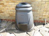 Garden Compost Maker Bin Black Large
