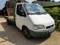Ford Transit Recovery Smiley - 2.5 Diesel Banana Engine - Mot December - 1995 - Used for Plant -