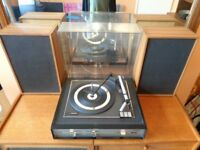 Vintage 1970's Philips 829 Stereo Record Player