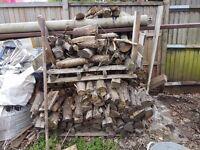 Firewood logs well seasoned hardwood dry ready to burn fire wood