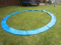 New 12 foot Trampoline Spring Cover in blue