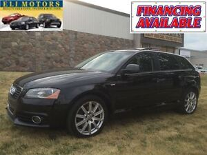 2009 Audi A3 S-LINE PANORAMIC SUNROOF.QUATTRO.BLUETOOTH.LEATHER