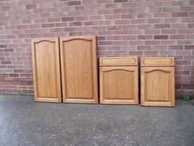 Solid Oak Doors/Draw Fronts