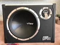 Subwoofer, amp and wiring - Vibe slick CBR 12