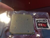 AMD FX 9590 8-core 4.7GHz processor with free heatsink and fan.
