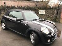 Mini Cooper Convertible Diesel 2010 Black (2011 facelift model)