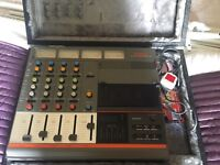 Fostex Recorder/Mixer Model 250 1980s WITH CASE