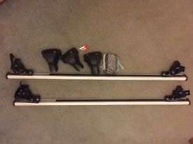 G3 Pacific Aluminim Roof Bars, 127cm - great condition