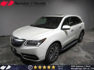 2016 Acura MDX Tech Pack| Navi, DVD, Leather!