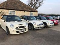 4x Mini Cooper for sale petrol and diesel also Cooper s