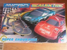 Micro Scalextric Super Endurance set