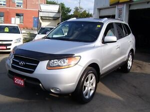 2009 Hyundai Santa Fe Limited/Leather/Sunroof/New tires/AWD