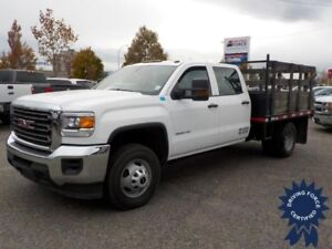 2015 GMC Sierra 3500HD WT 9 Ft Flat Deck, 6.0L V8 Gas, 90,077 KM