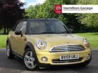 Mini Convertible 1.6 Cooper 2dr Cabriolet (yellow) 2009
