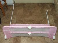 Lindam Bed Guard (Pink)